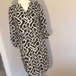 Tunic/ dress with 3/4 sleeves
